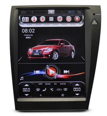 12 Inch Tesla Vertical Screen Android 8.1 For Lexus ES 350 2007-2012